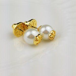Tory Burch Crystal Pearl Earring